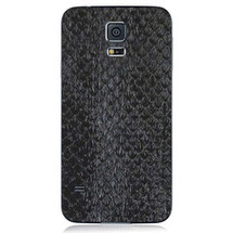 Samsung Galaxy S5 Back Genuine Anaconda Black