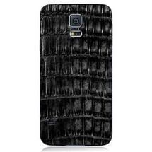 Samsung Galaxy S5 Back Genuine Crocodile Black