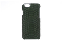 iPhone 6/6S Case Genuine Python Evergreen