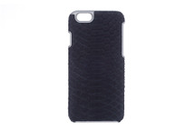iPhone 6/6S Case Genuine Python Navy