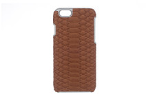 iPhone 6/6S Case Genuine Python Saddle