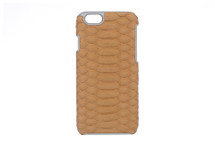 iPhone 6/6S Case Genuine Python Tan