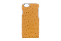 iPhone 6/6S Case Genuine Ostrich Yellow