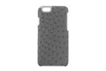iPhone 6/6S Case Genuine Ostrich Grey