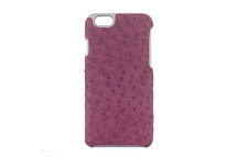 iPhone 6/6S Case Genuine Ostrich Lilac