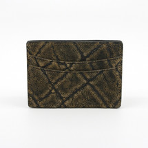 Genuine Elephant Card Case Olive