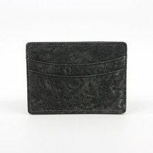 Genuine Elephant Card Case Charcoal
