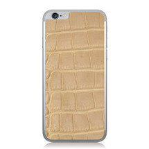 iPhone 6 Back Genuine Alligator Blonde