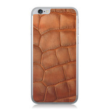iPhone 6 Back Genuine Alligator Cognac