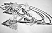 Ground Anchor Kit 8'' Anchors with 5/16'' x 48'' Cable Assembly
