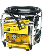 LP 9-20 P: Petrol-driven power pack, 20 lpm (5 gpm) including 7 m (52 ft) extension twin-hose