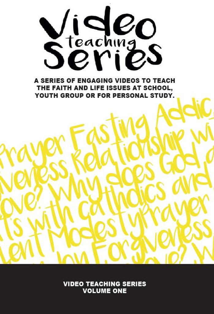 Video teaching Series (Volume One) - Fr Rob Galea - DVD