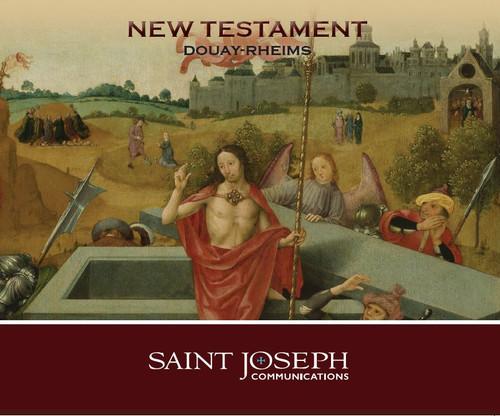 The Holy Bible: Douay Rheims New Testament - Audio Bible - St Joseph Communications - 14CD Set