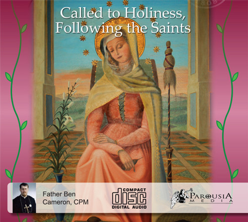 Called to Holiness, Following the Saints (3 CD Set) - Fr Ben Cameron, CPM