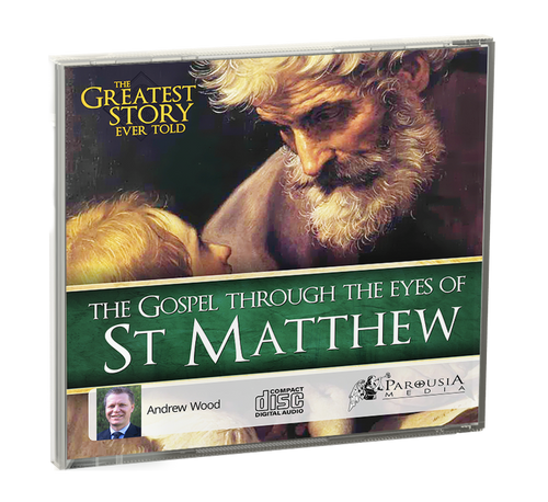 The Greatest Story Ever Told Through the Eyes of St Matthew - CD