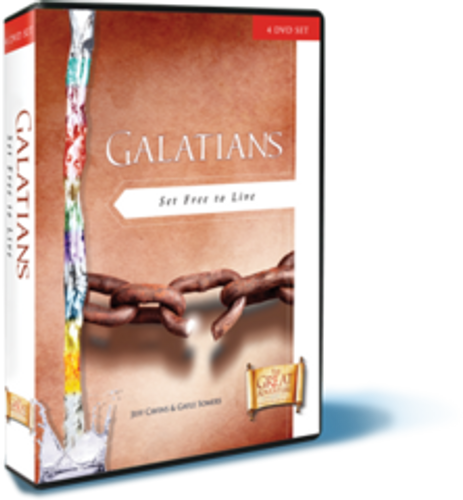 Galatians: Set Free to Live - 4 DVD Set
