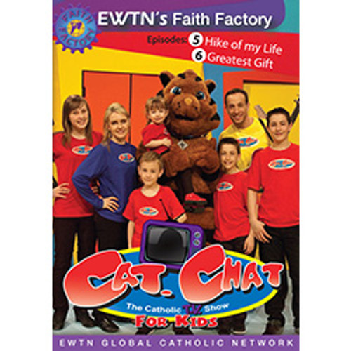 Cat. Chat - The Catholic TV Show for Kids: Episodes 5 & 6 (DVD)