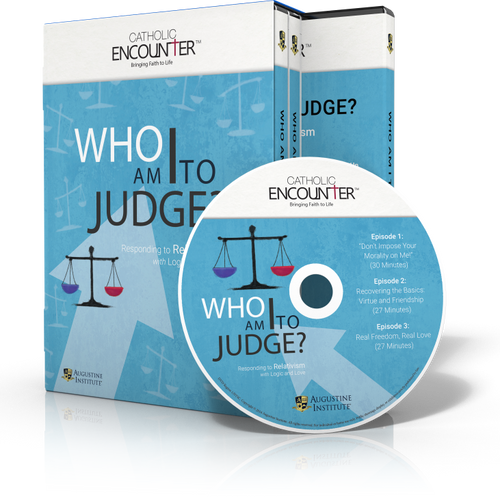 Who Am I To Judge - Dr Edward Sri - Augustine Institute (DVD SET)
