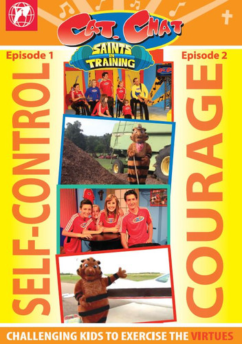 Cat.Chat - Season 2 - Saints in Training - Episodes 1 & 2 (DVD)