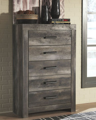 Wynnlow Gray Five Drawer Chest