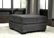 Tracling Slate Oversized Accent Ottoman