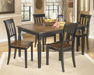 Owingsville 5 Pc. Rectangular Dining Room Table & 4 Side Chairs