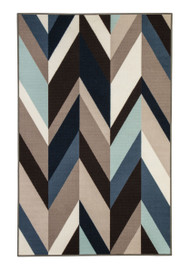 Keelia Blue/Brown/Gray Medium Rug
