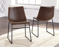 Centiar Brown/Black Dining Upholstered Side Chair