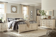 Bolanburg Two-tone 6 Pc. Dresser, Mirror, Chest & King Panel Bed
