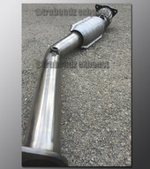 "06-11 Chevy HHR - Downpipe Exhaust - 2.5"" - Catted"