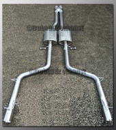 05-08 Dodge Magnum Dual Exhaust - with Borla - 2.25 inch