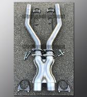 89-97 Ford Thunderbird Custom Fit X-Pipe - 2.5 Inch Aluminized