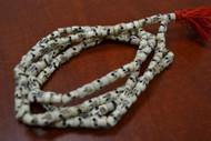 Tibetan Buddhish Buffalo Skull Bone Mala Prayer Beads 10mm