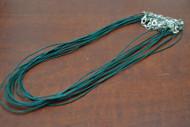 12 Pcs Wax Cotton Necklace Cords