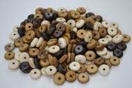 Assort Mix Carved Tube Round Buffalo Bone Beads