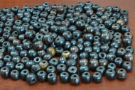 Chocolate Brown Plain Round Bone Beads 8mm