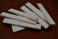Electric Guitar Buffalo Bone Saddle Blank 89 x 12 x 3mm