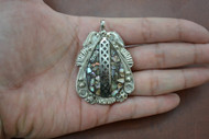 Abalone Shell Silver Plated Pendant