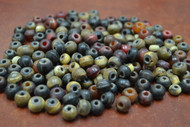 Assortment Color Buffalo Horn Round Beading Beads 8mm