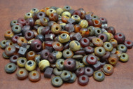 Assortment Color Buffalo Horn Round Beading Beads 10mm