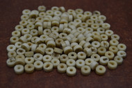 Coffee Brown Plain Round Bone Beads 6mm
