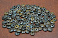 Chocolate Brown Plain Round Bone Beads 10mm