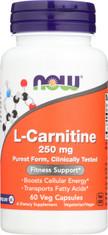 L-Carnitine 250 mg Tartrate-L-Carnipure® - 60 Capsules