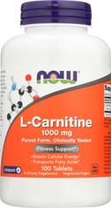 L-Carnitine 1000 mg - 100 Tablets