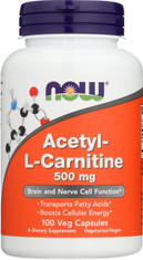 Acetyl-L Carnitine 500 mg - 100 Vcaps®