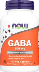 GABA 500 mg + B-6 2 mg - 100 Capsules