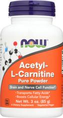 Acetyl-L-Carnitine Powder - 3 oz.