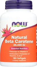 Beta Carotene (Natural) - 180 Softgels