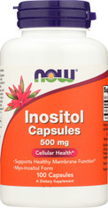 Inositol 500 mg - 100 Capsules