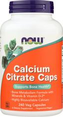 Calcium Citrate Caps - 240 Vcaps®